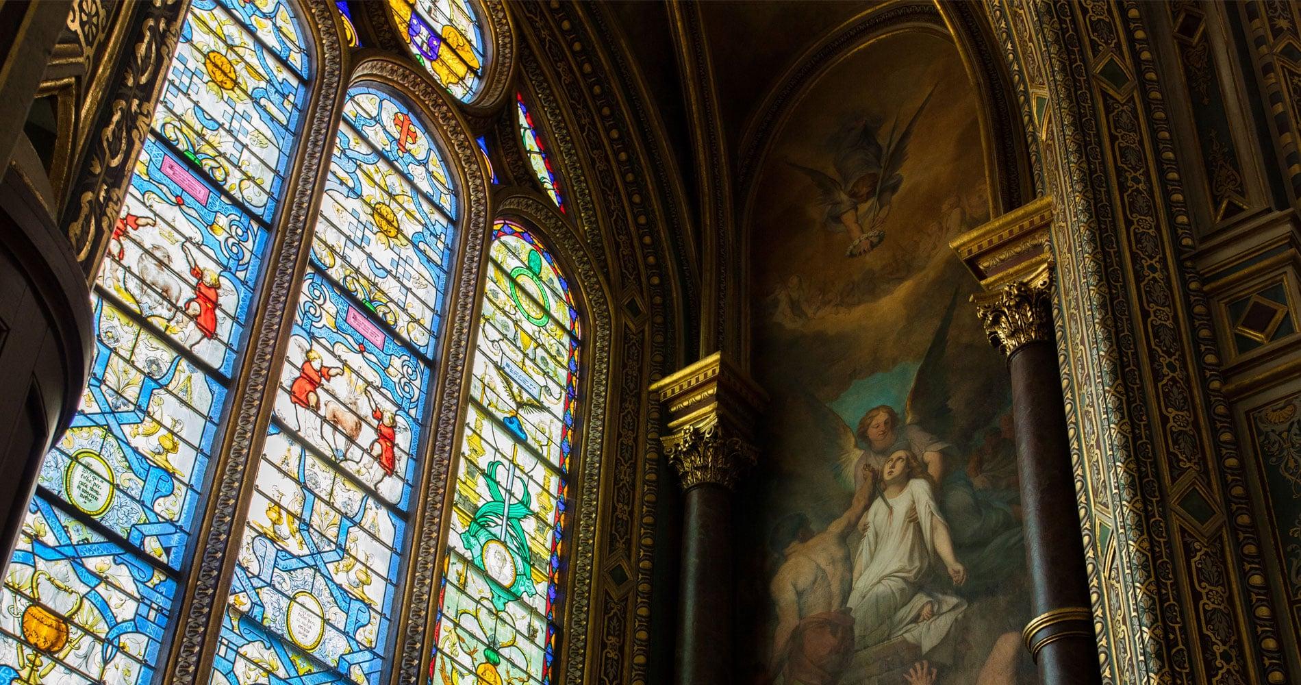 Restauration <br>Chapelle des <br>Saints Anges