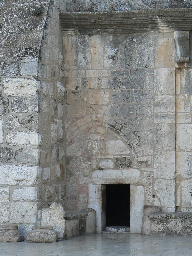 Maigrir pour la porte étroite dans Communauté spirituelle Porte-dentrC3A9e-de-la-Basilique-de-la-NativitC3A9-C3A0-BethlC3A9em